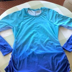 Lucky in Love LS breathable athletic shirt